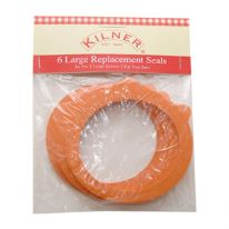 Kilner Pack of 6 Replacement Rubber Seals For 3 Litre Jars
